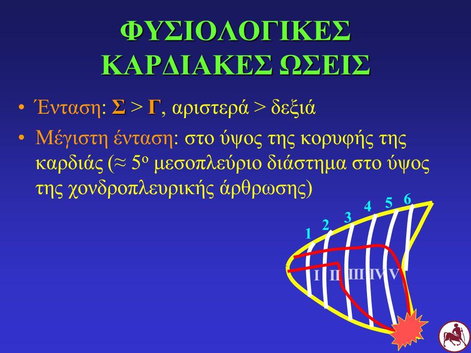 ΦΥΣΙΟΛΟΓΙΚΕΣ ΚΑΡΔΙΑΚΕΣ ΩΣΕΙΣ