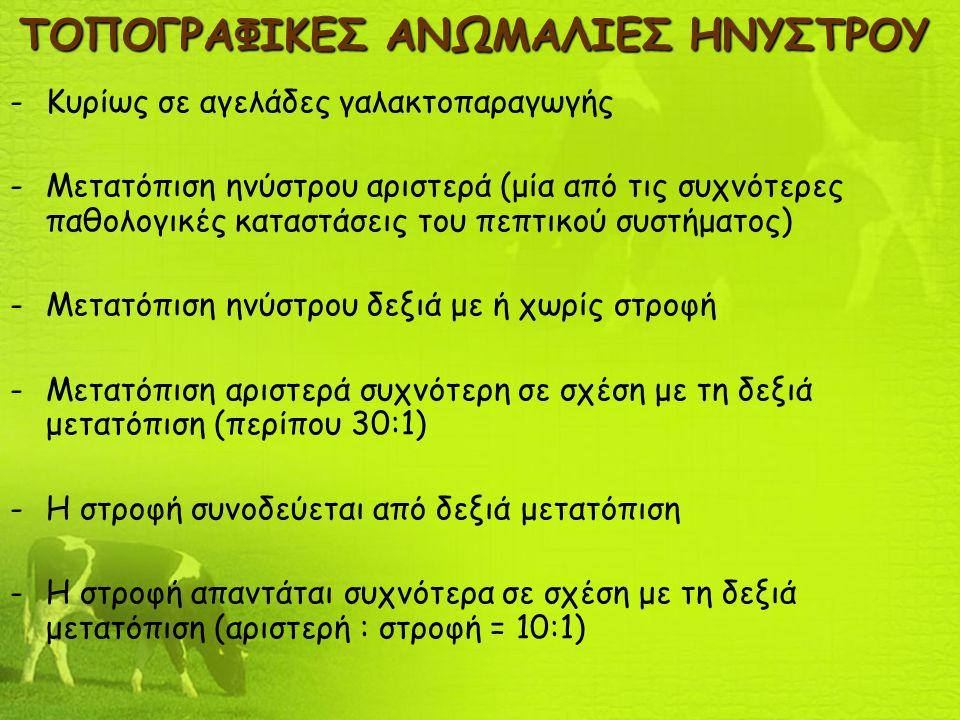 ΤΟΠΟΓΡΑΦΙΚΕΣ ΑΝΩΜΑΛΙΕΣ ΗΝΥΣΤΡΟΥ