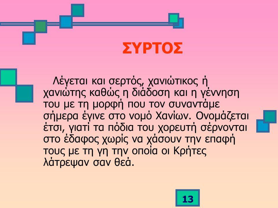 ΣΥΡΤΟΣ