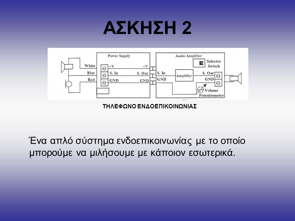 ΤΗΛΕΦΩΝΟ ΕΝΔΟΕΠΙΚΟΙΝΩΝΙΑΣ
