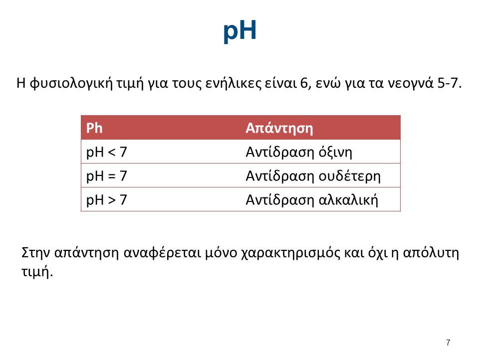 Μέθοδοι μέτρησης pH Ταινία ούρων Πεχαμετρικό χαρτί Πεχάμετρο