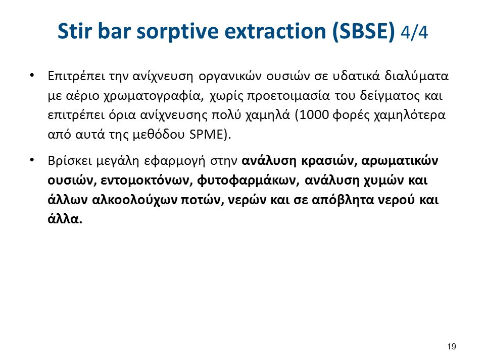SPME/SBSE 1/2