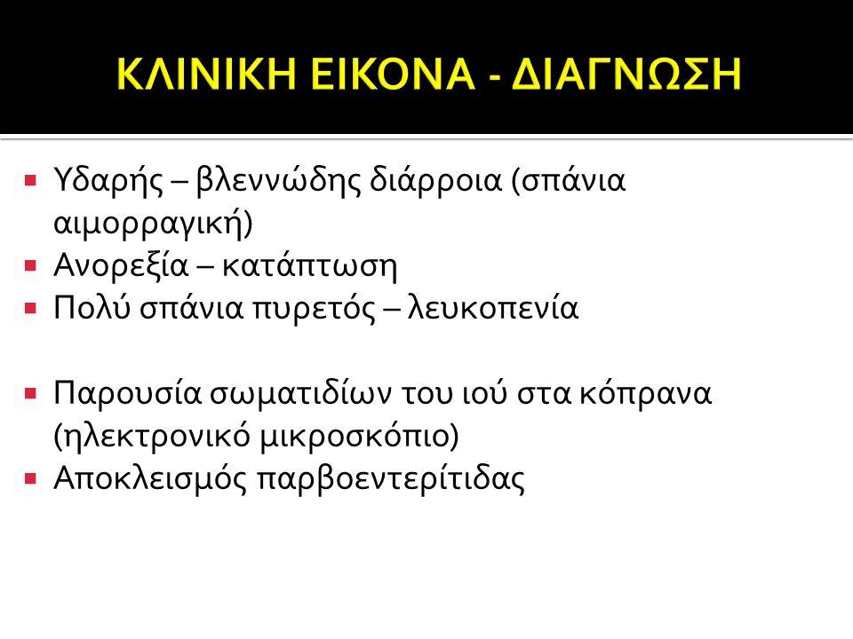 ΚΛΙΝΙΚΗ ΕΙΚΟΝΑ - ΔΙΑΓΝΩΣΗ
