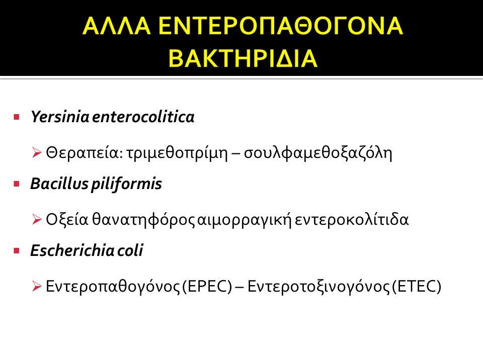 ΑΛΛΑ ΕΝΤΕΡΟΠΑΘΟΓΟΝΑ ΒΑΚΤΗΡΙΔΙΑ