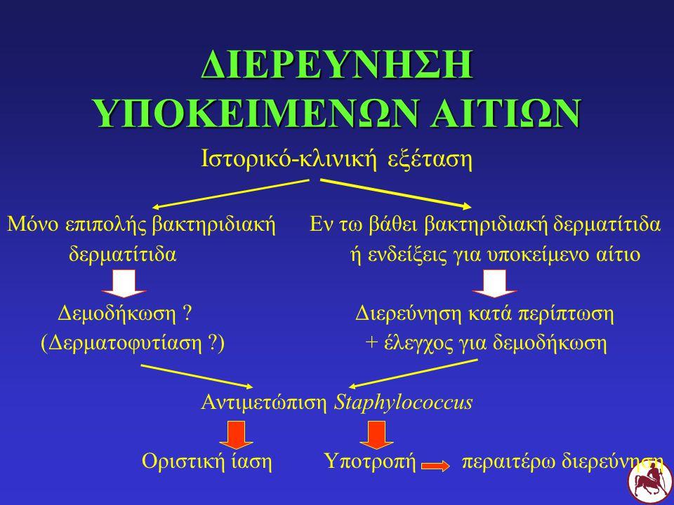 ΔΙΕΡΕΥΝΗΣΗ ΥΠΟΚΕΙΜΕΝΩΝ ΑΙΤΙΩΝ