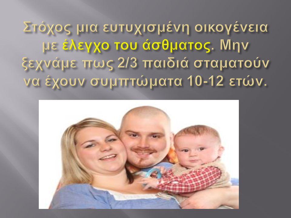 Στόχος μια ευτυχισμένη οικογένεια με έλεγχο του άσθματος
