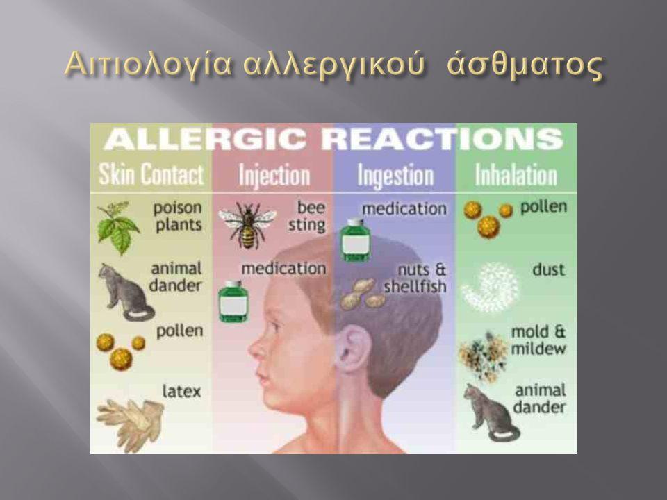 Αιτιολογία αλλεργικού άσθματος