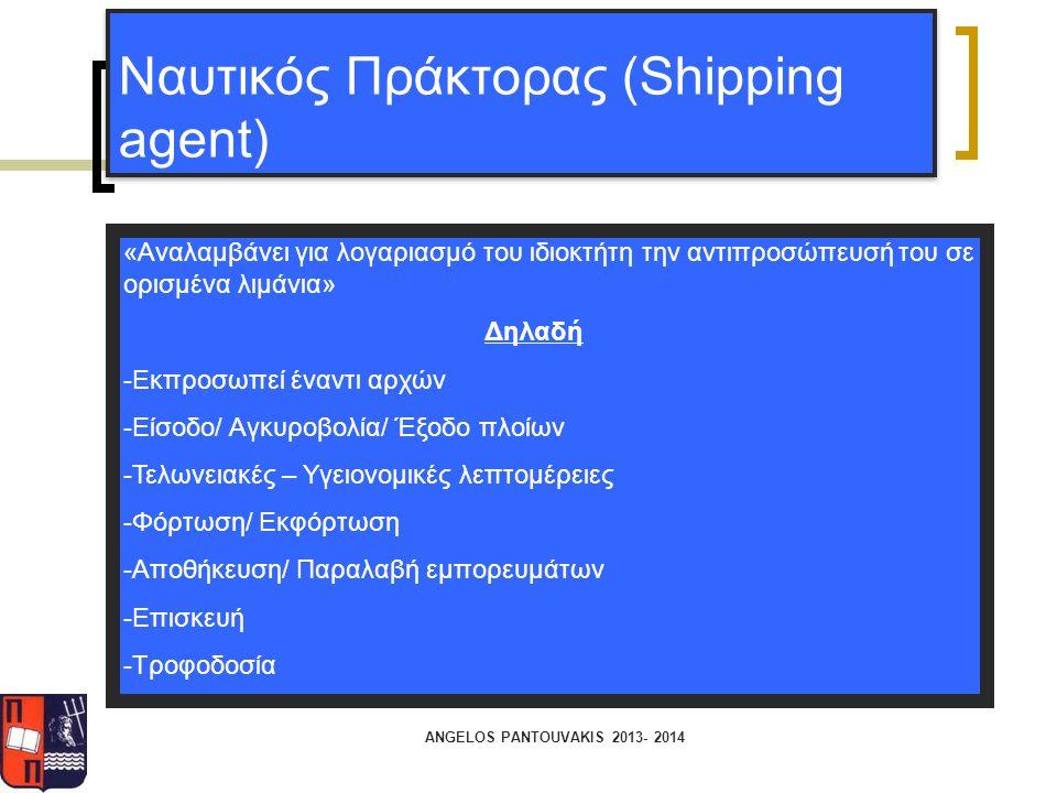 Ναυτικός Πράκτορας (Shipping agent)