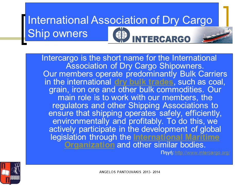 International Association of Dry Cargo Ship owners
