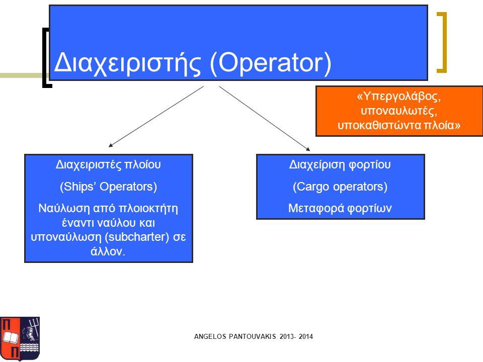 Διαχειριστής (Operator)