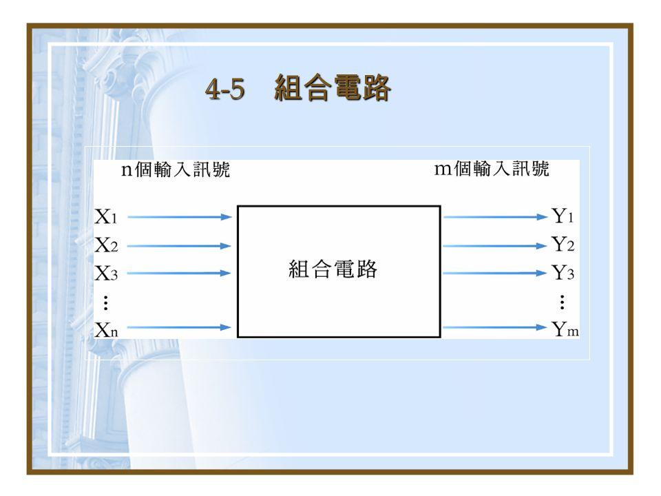 4-5 組合電路