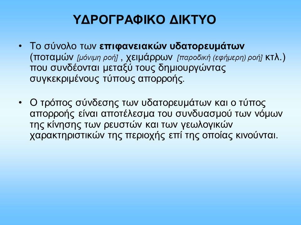 ΥΔΡΟΓΡΑΦΙΚΟ ΔΙΚΤΥΟ