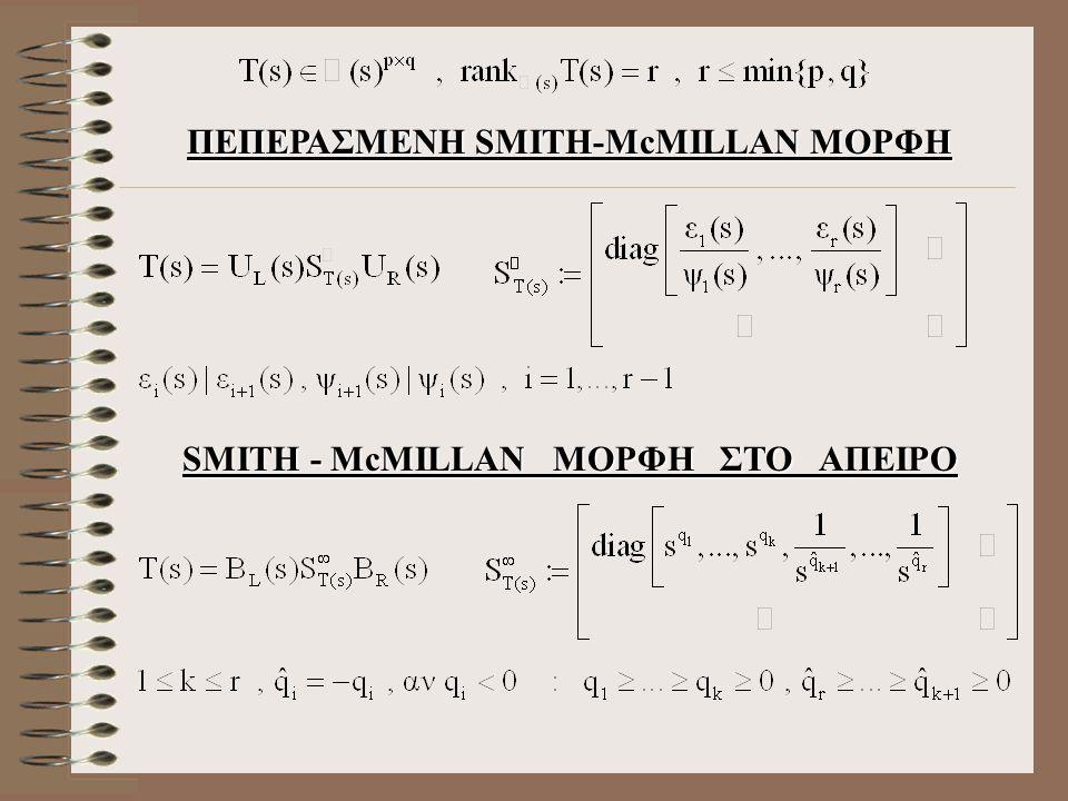 SMITH - McMILLAN ΜΟΡΦΗ ΣΤΟ ΑΠΕΙΡΟ