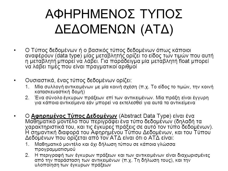 ΑΦΗΡΗΜΕΝΟΣ ΤΥΠΟΣ ΔΕΔΟΜΕΝΩΝ (ΑΤΔ)