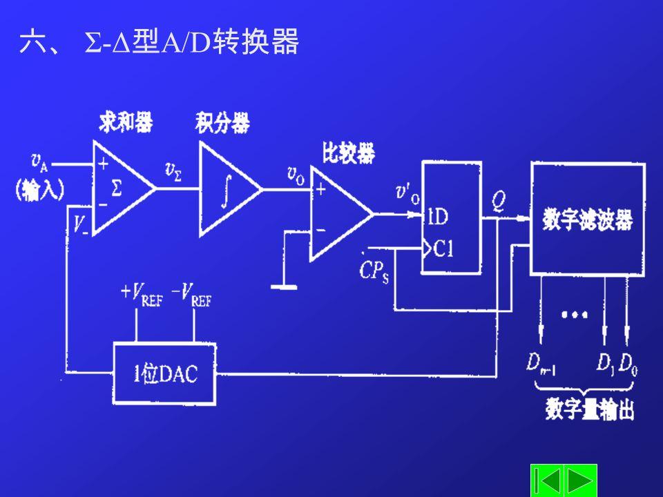 六、 Σ-Δ型A/D转换器