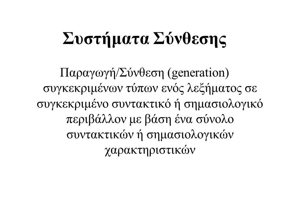 Συστήματα Σύνθεσης