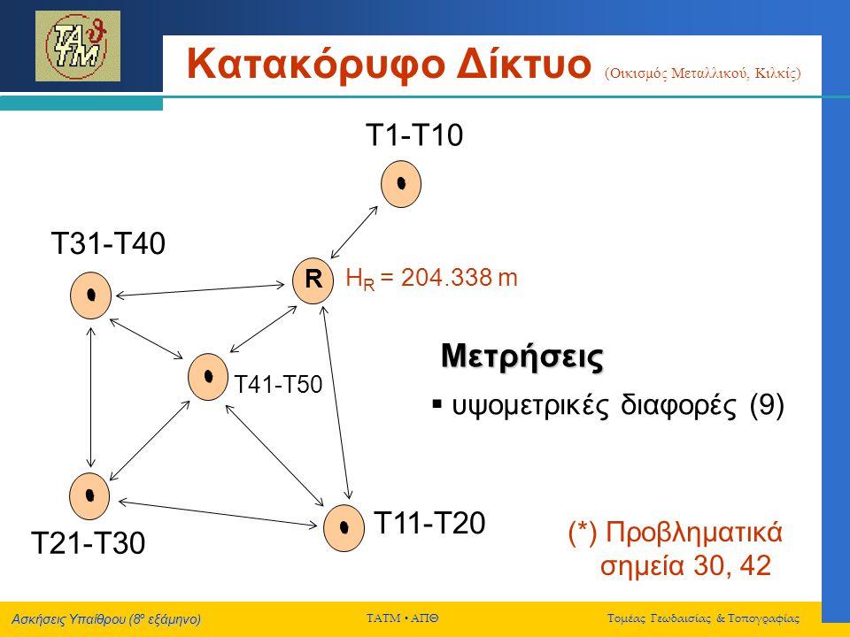Κατακόρυφο Δίκτυο (Οικισμός Μεταλλικού, Κιλκίς)