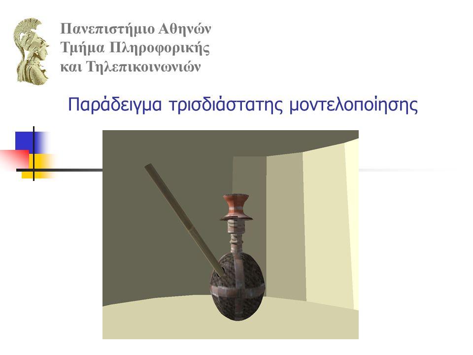 Παράδειγμα τρισδιάστατης μοντελοποίησης