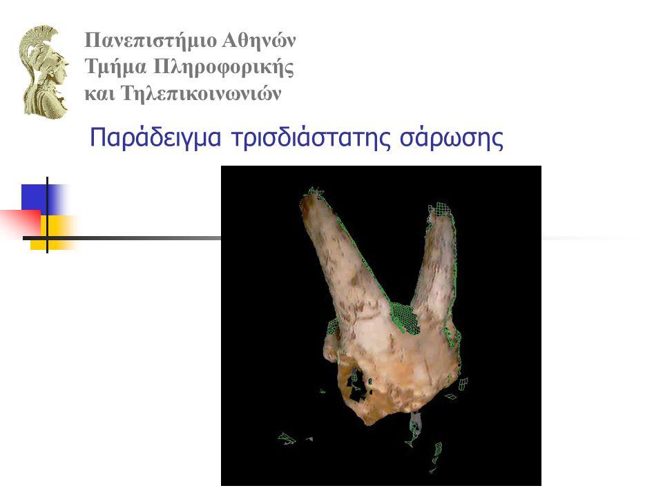 Παράδειγμα τρισδιάστατης σάρωσης