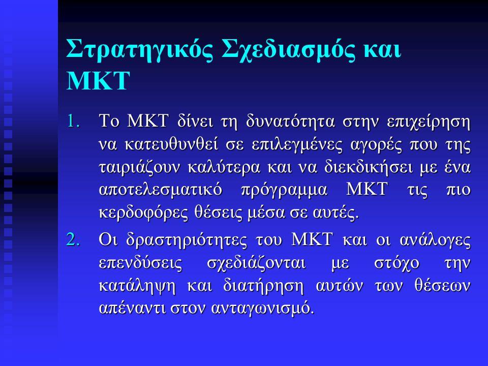 Στρατηγικός Σχεδιασμός και ΜΚΤ