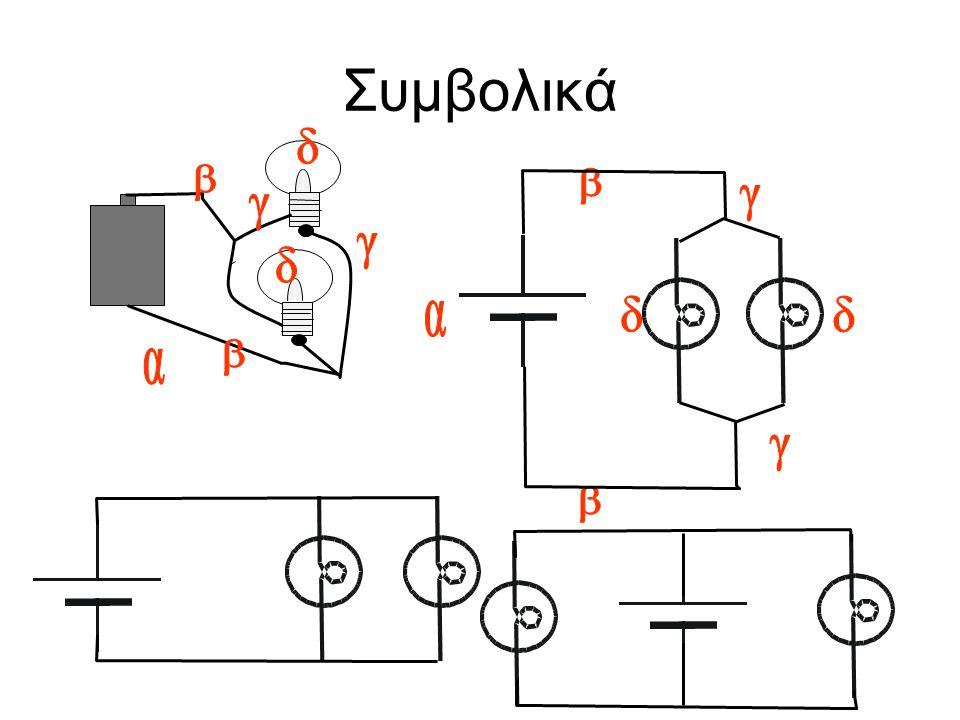 Συμβολικά δ β β γ γ γ δ α δ δ β α γ β