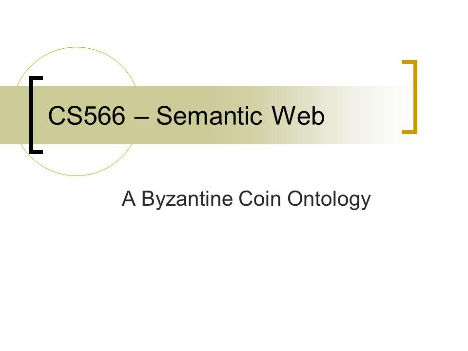 A Byzantine Coin Ontology