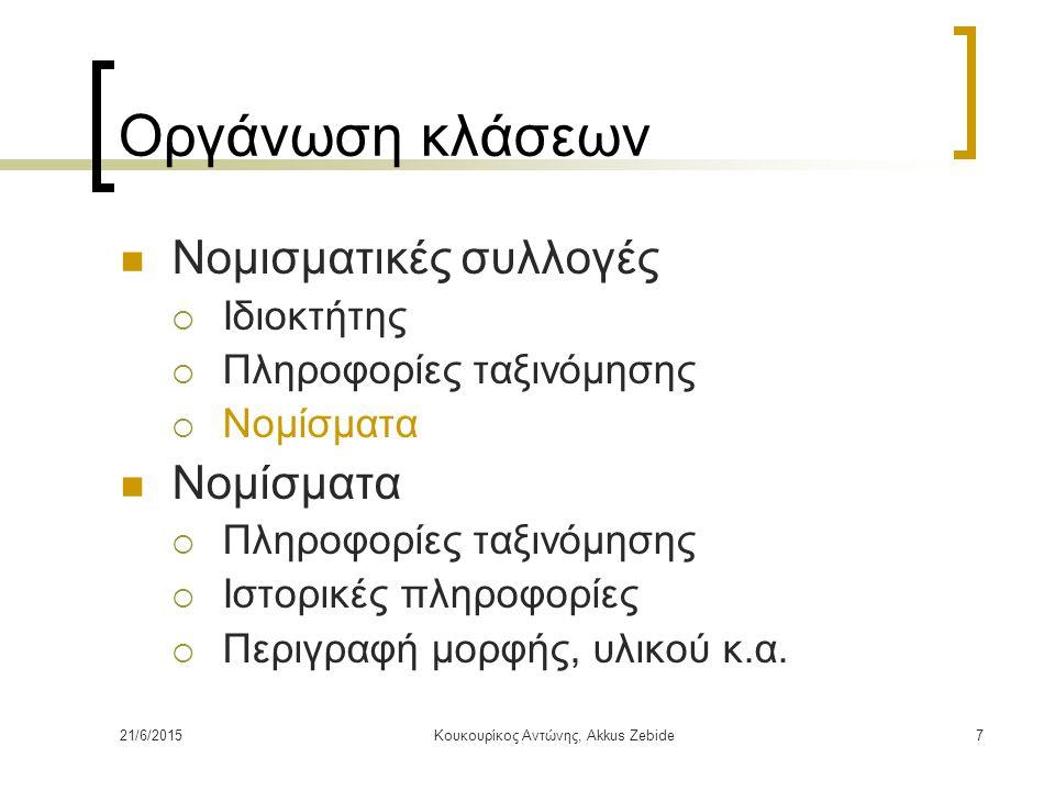 Κουκουρίκος Αντώνης, Akkus Zebide