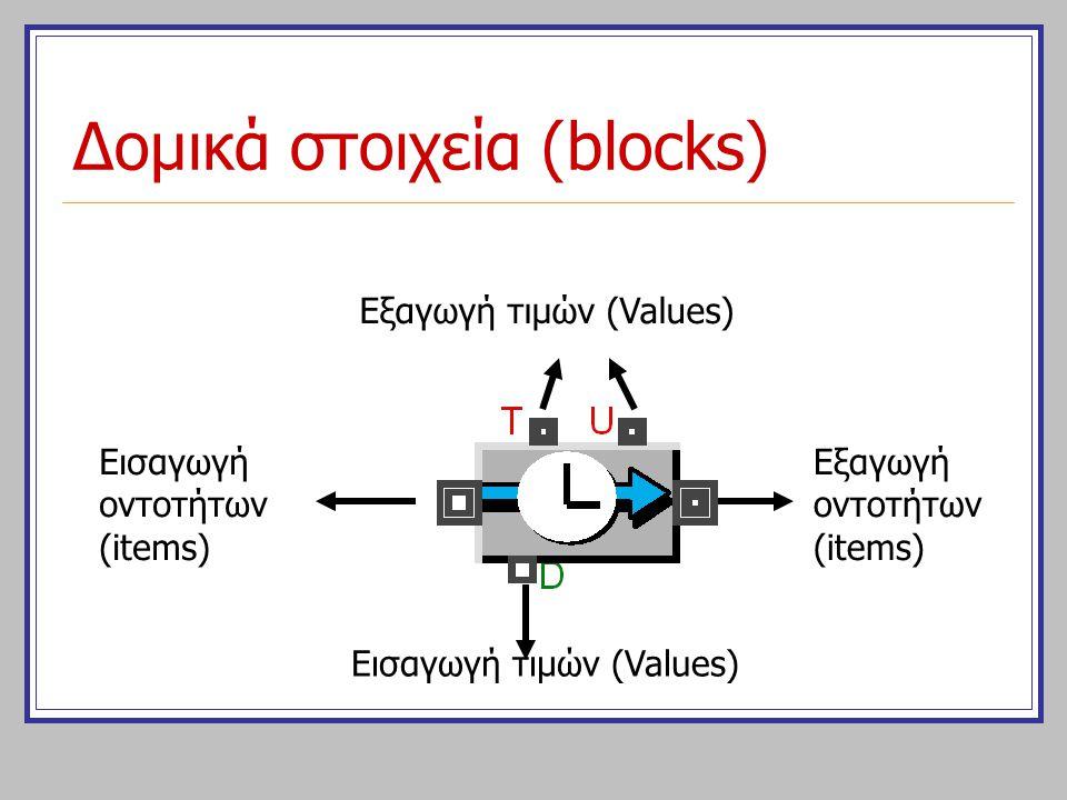 Δομικά στοιχεία (blocks)
