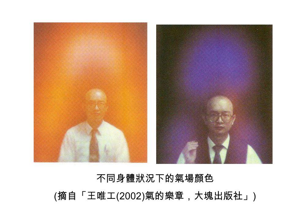 (摘自「王唯工(2002)氣的樂章,大塊出版社」)