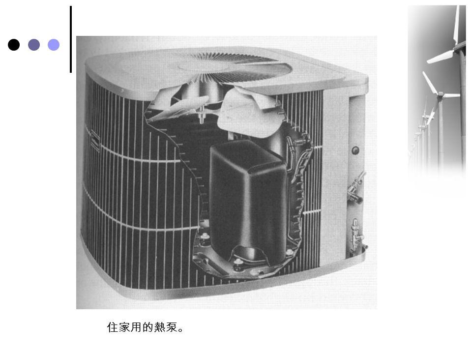 住家用的熱泵。