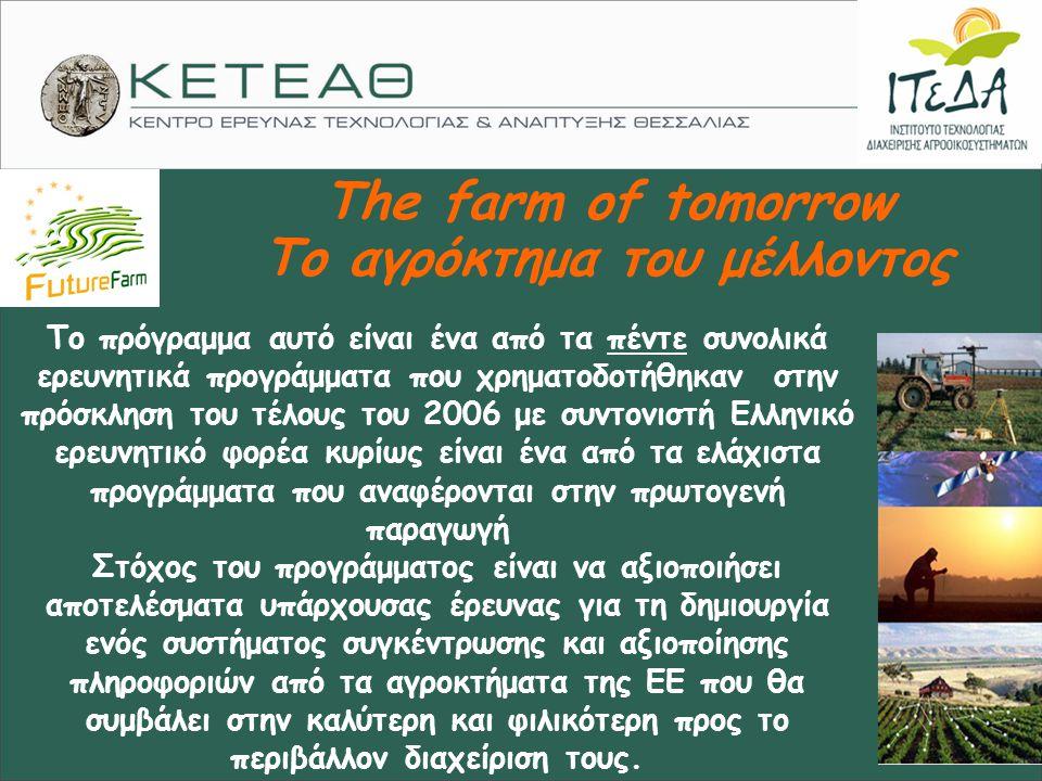 Το αγρόκτημα του μέλλοντος