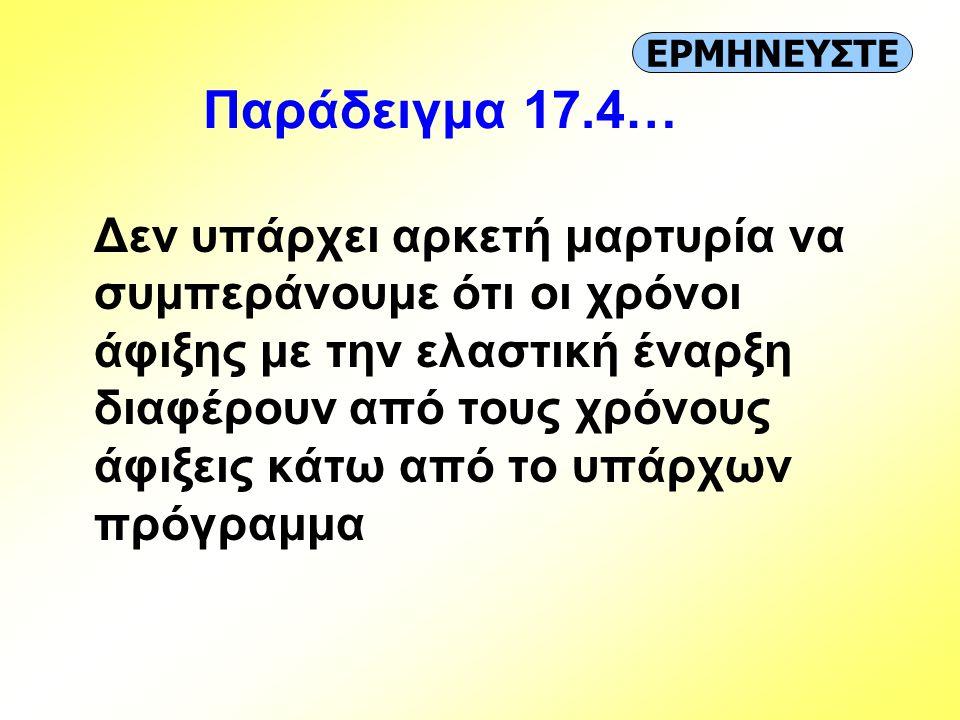 ΕΡΜΗΝΕΥΣΤΕ Παράδειγμα 17.4…