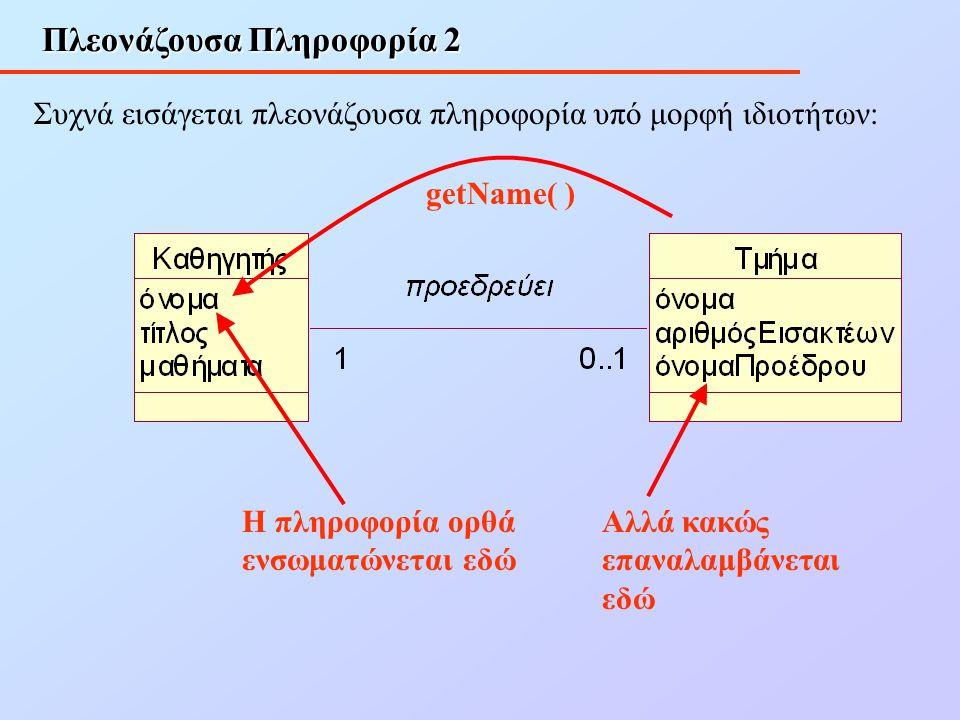 Πλεονάζουσα Πληροφορία 2