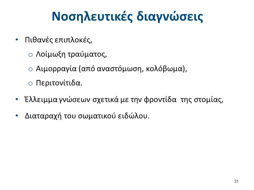 Νοσηλευτικές παρεμβάσεις (1 από 2)