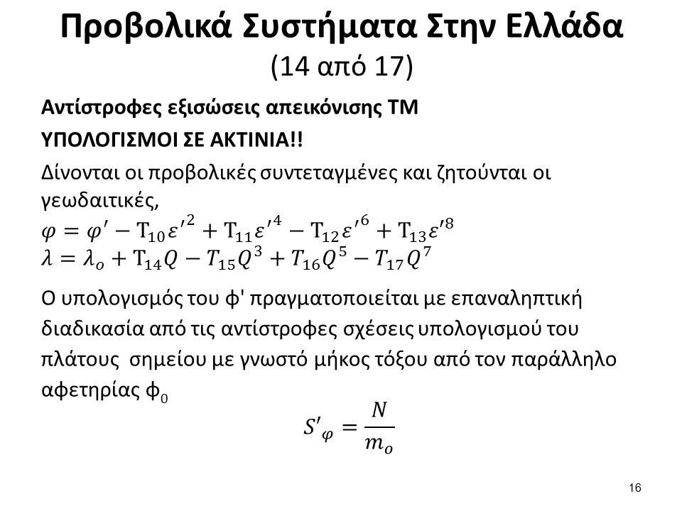 Προβολικά Συστήματα Στην Ελλάδα (15 από 17)
