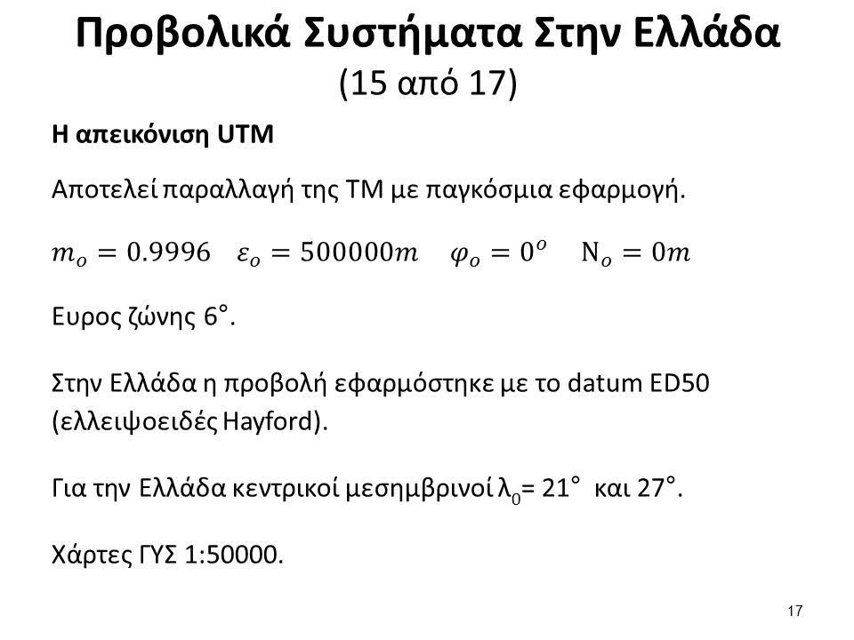 Προβολικά Συστήματα Στην Ελλάδα (16 από 17)