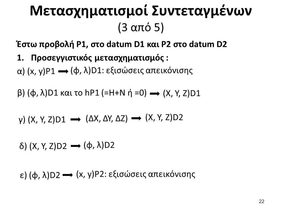 Μετασχηματισμοί Συντεταγμένων (4 από 5)