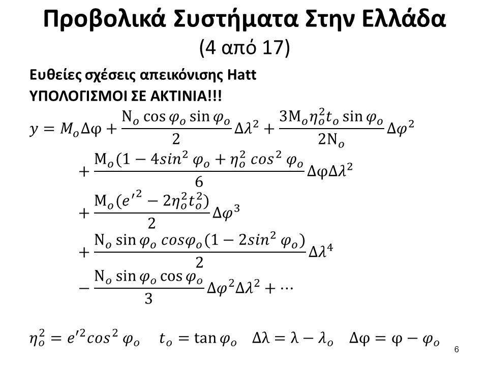 Προβολικά Συστήματα Στην Ελλάδα (5 από 17)