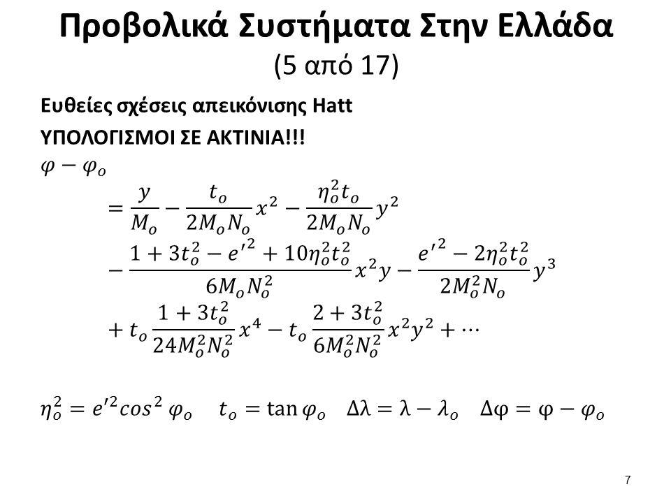 Προβολικά Συστήματα Στην Ελλάδα (6 από 17)