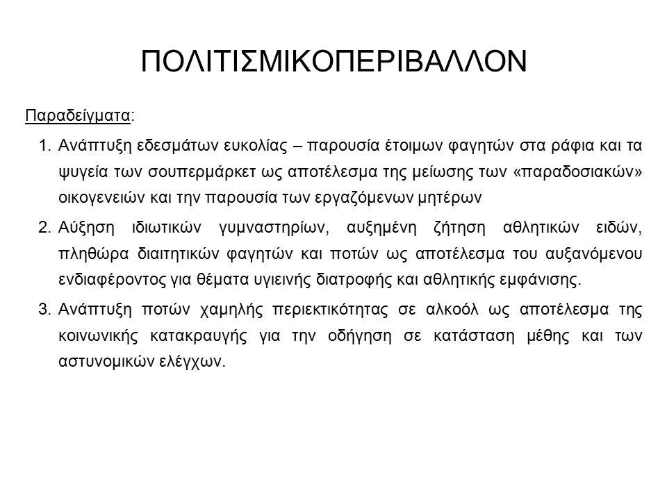 ΠΟΛΙΤΙΣΜΙΚΟΠΕΡΙΒΑΛΛΟΝ