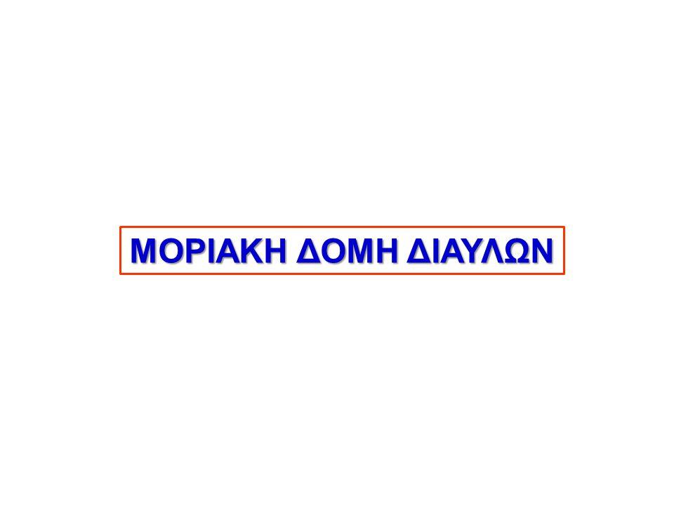 ΜΟΡΙΑΚΗ ΔΟΜΗ ΔΙΑΥΛΩΝ