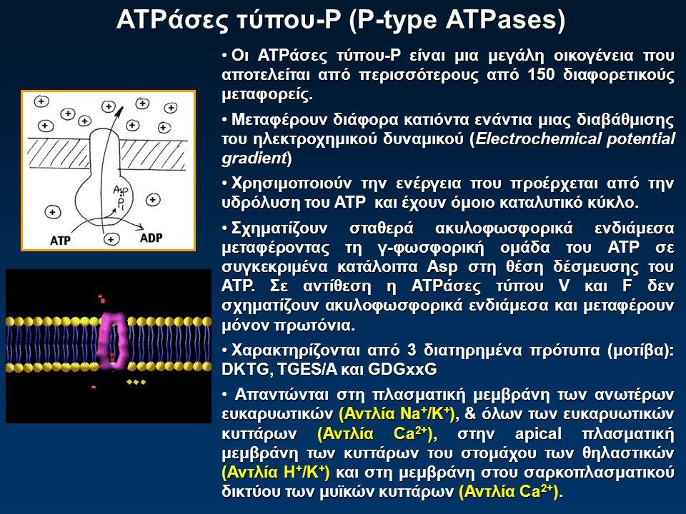 ATPάσες τύπου-P (P-type ATPases)