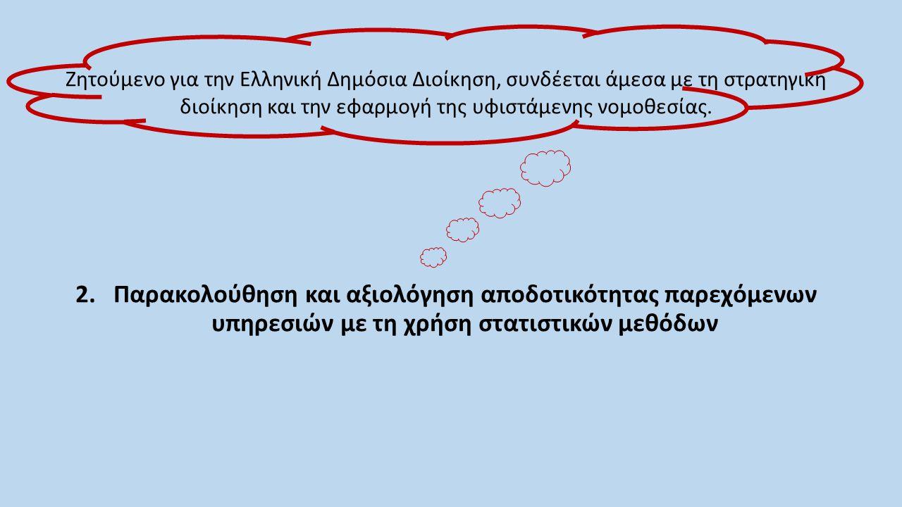 Ζητούμενο για την Ελληνική Δημόσια Διοίκηση, συνδέεται άμεσα με τη στρατηγική διοίκηση και την εφαρμογή της υφιστάμενης νομοθεσίας.
