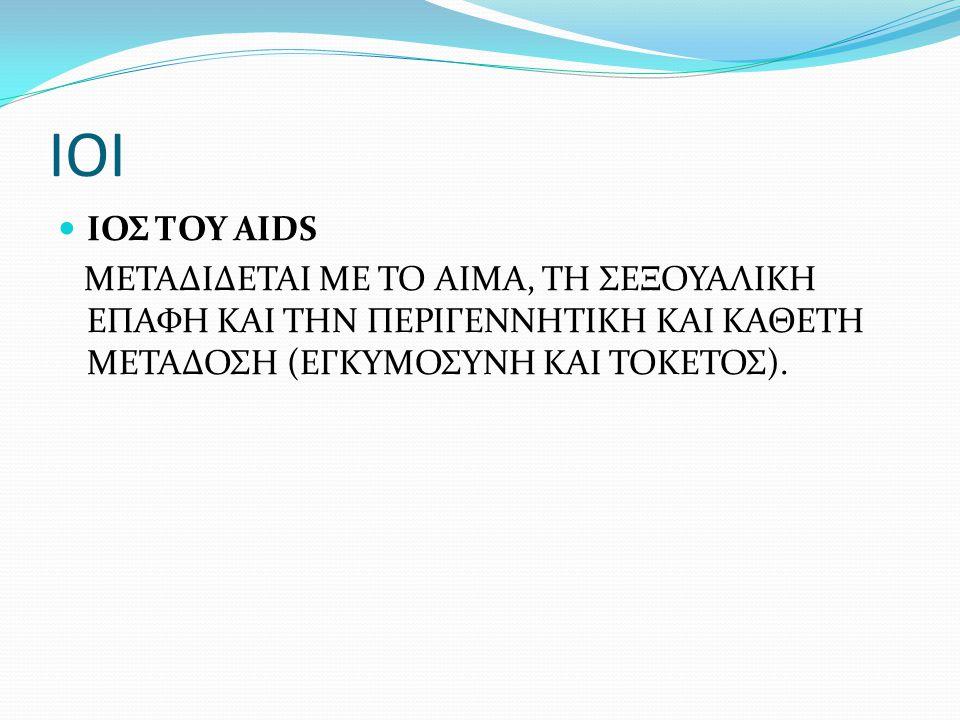 ΙΟΙ ΙΟΣ ΤΟΥ AIDS.