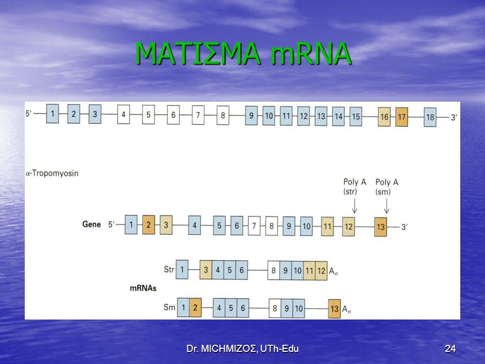 ΜΑΤΙΣΜΑ mRNA Dr. ΜΙCHΜΙΖΟΣ, UTh-Edu