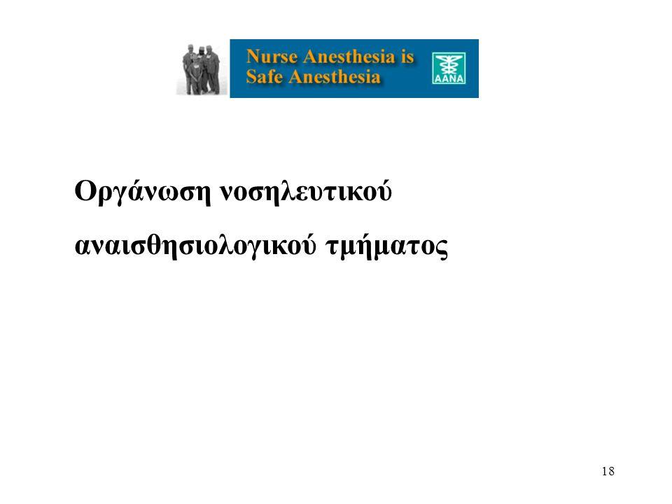 Οργάνωση νοσηλευτικού
