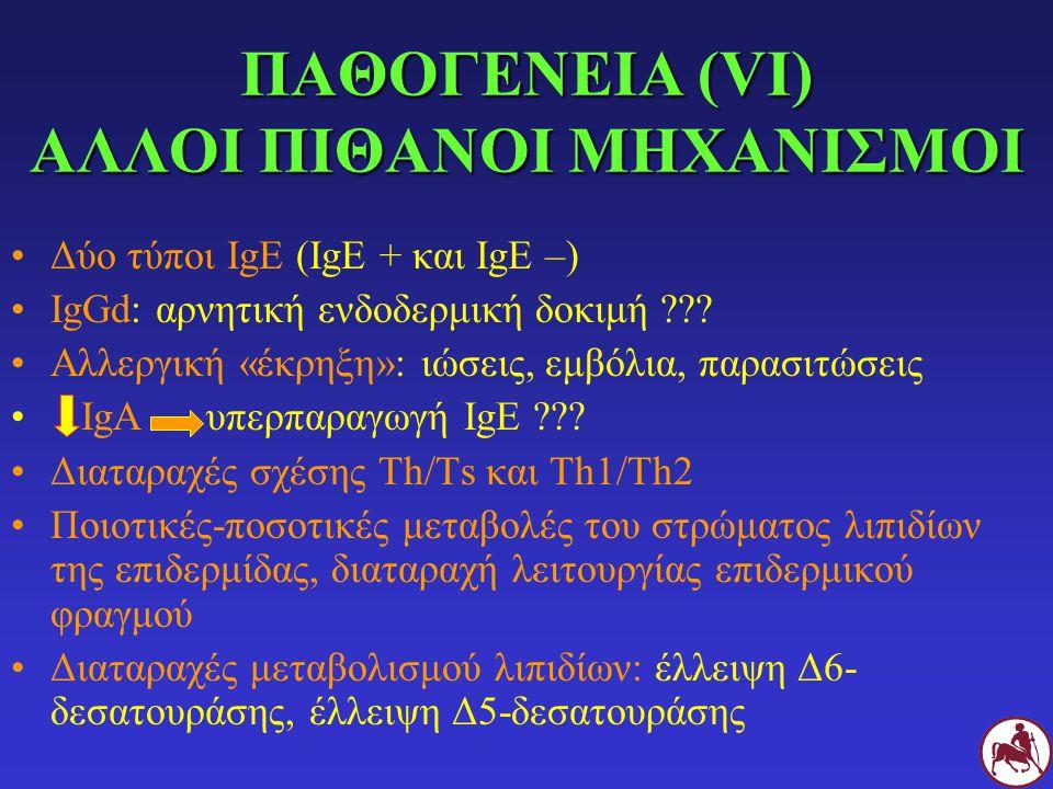 ΠΑΘΟΓΕΝΕΙΑ (VΙ) ΑΛΛΟΙ ΠΙΘΑΝΟΙ ΜΗΧΑΝΙΣΜΟΙ