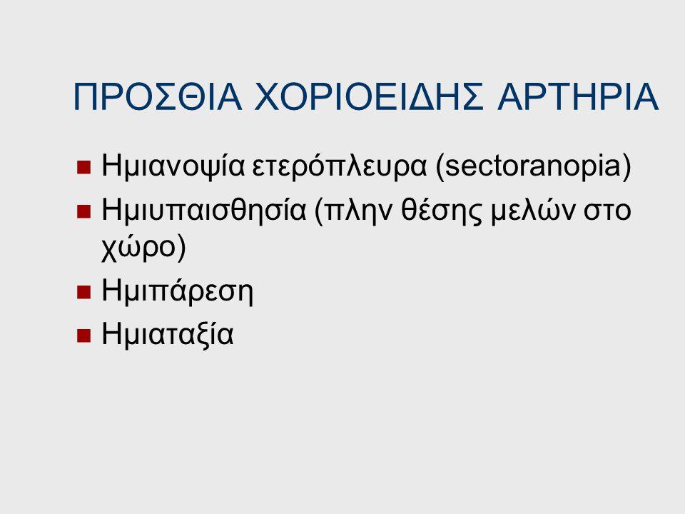ΠΡΟΣΘΙΑ ΧΟΡΙΟΕΙΔΗΣ ΑΡΤΗΡΙΑ