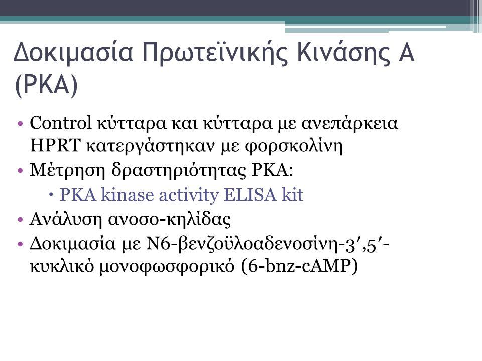 Δοκιμασία Πρωτεϊνικής Kινάσης Α (PKA)