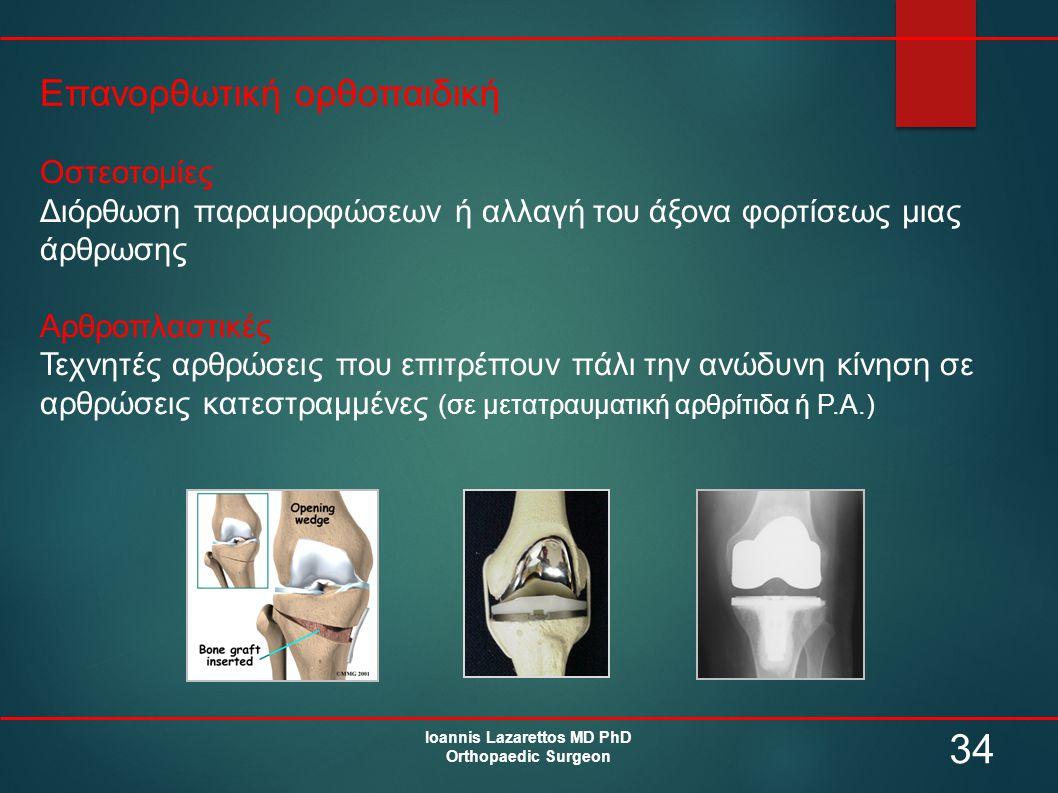 Ioannis Lazarettos MD PhD